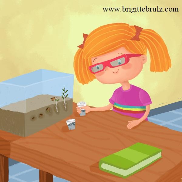 Jobs of a Preschooler- I'm a scientist...