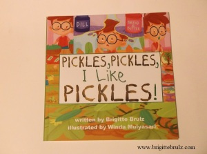 Pickles, Pickles, I Like Pickles proof cover