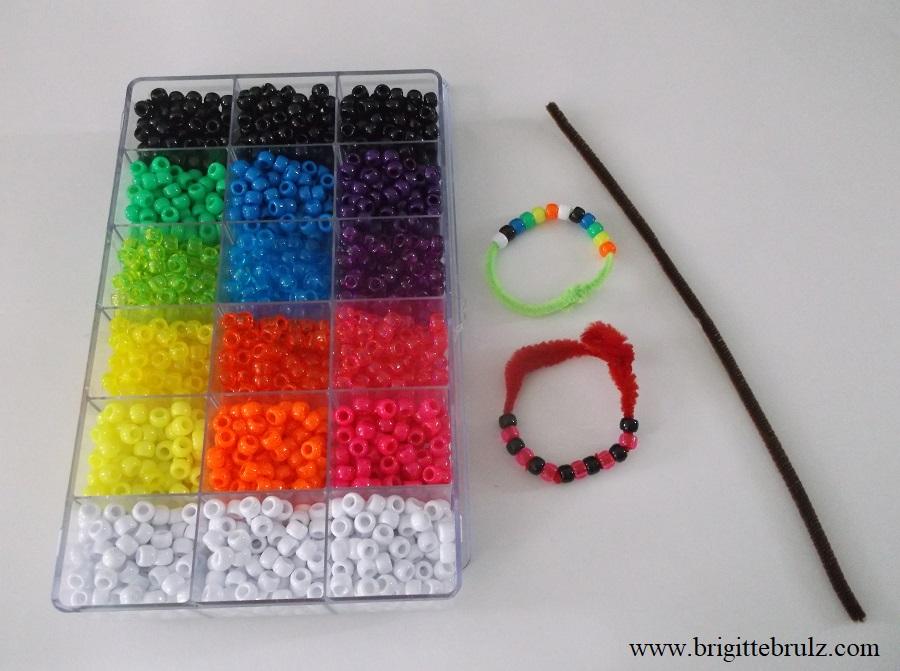Jobs of a Preschooler...I'm a jewelry maker...