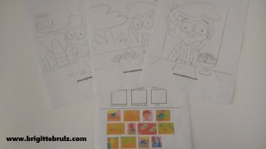 Pickle coloring pages and pickle activity for Pickles, Pickles, I Like Pickles