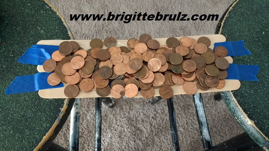 Build a bridge to hold pennies