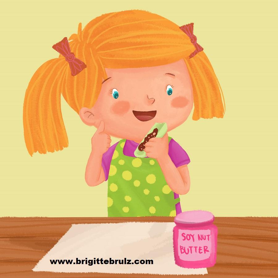 from book Jobs of a Preschooler...preschooler being a taste tester