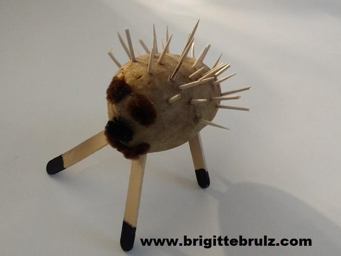 Potato hedgehog