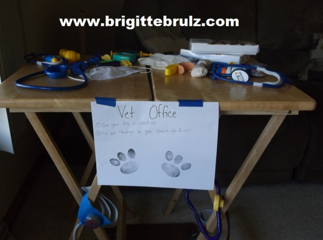 vet supplies for vet themed party