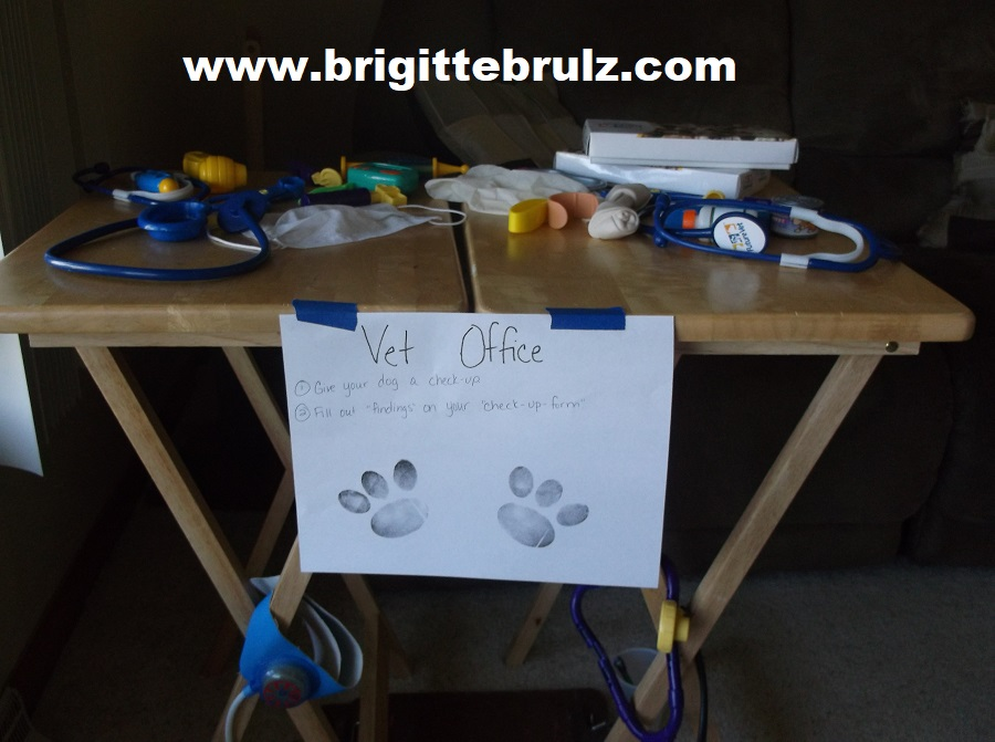 vet supplies for vet themed party