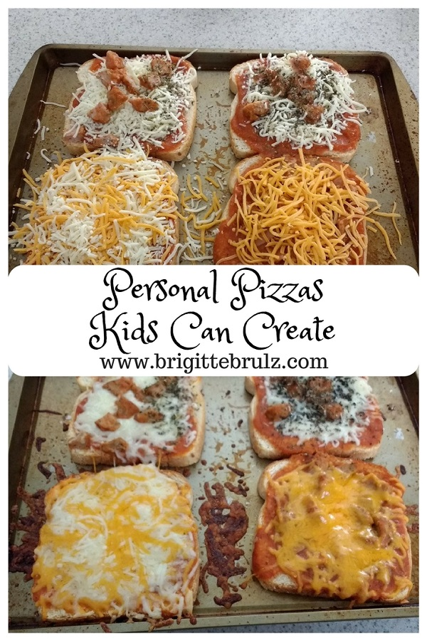 homemade pizzas kids can make