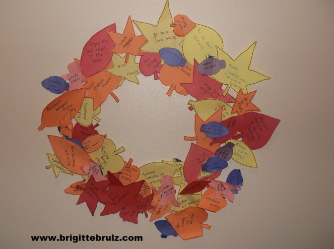 Display your winter and fall activities!