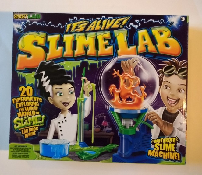 It's Alive Slime Lab science