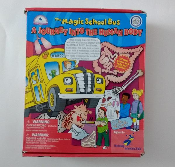 Magic School Bus science kit