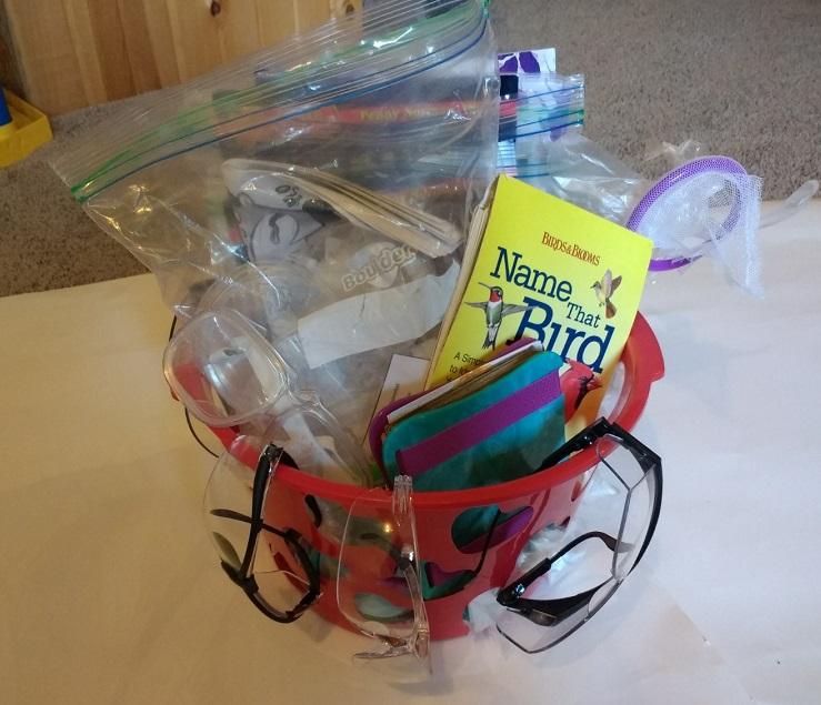 Science Fun Basket