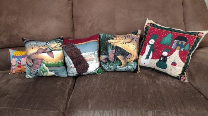 homemade pillows