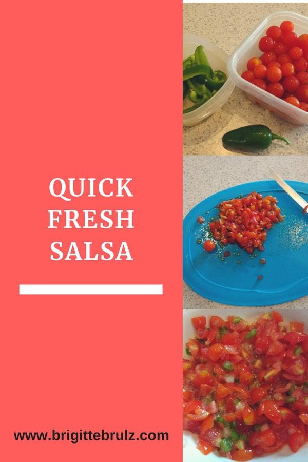 Quick Fresh Homemade Salsa