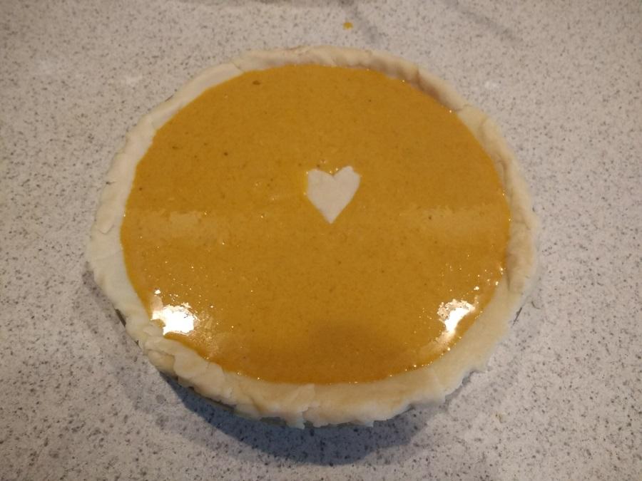 precooked pumpkin pie