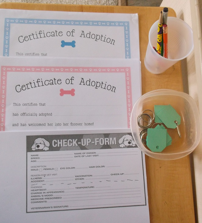 vet certificates found on Chickabug Blog