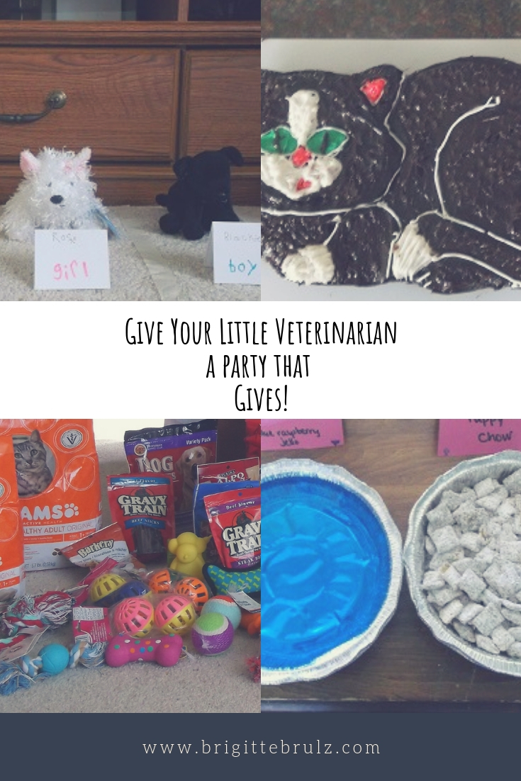 Host a party to collect donations for the humane society