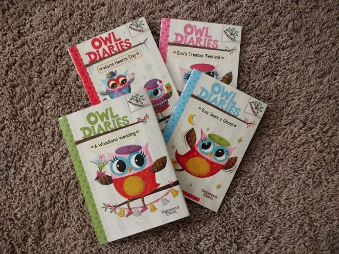 Owl Diaries books