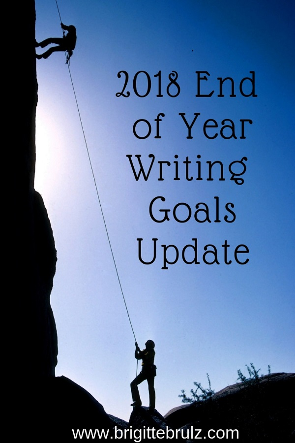 2018 End of Year Writing Goals Update
