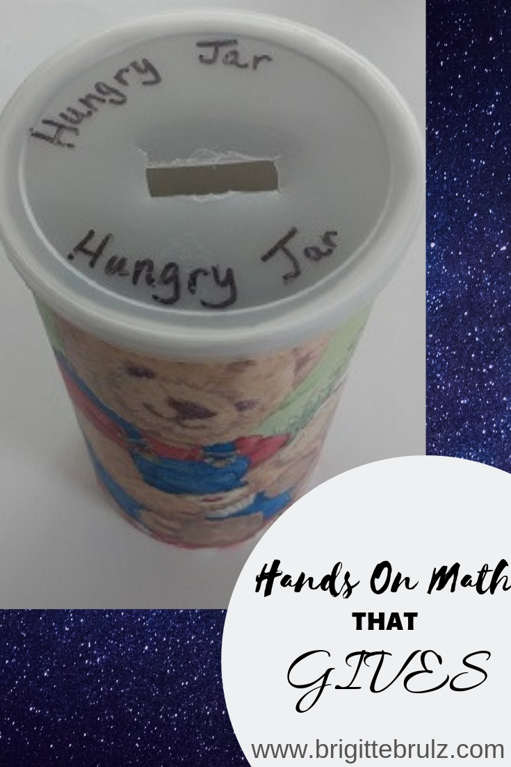 A hands-on math craft that teaches budgeting and giving