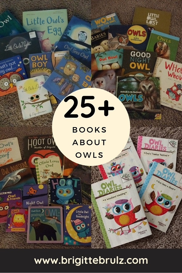 25+ Owl Books to Read with Kids