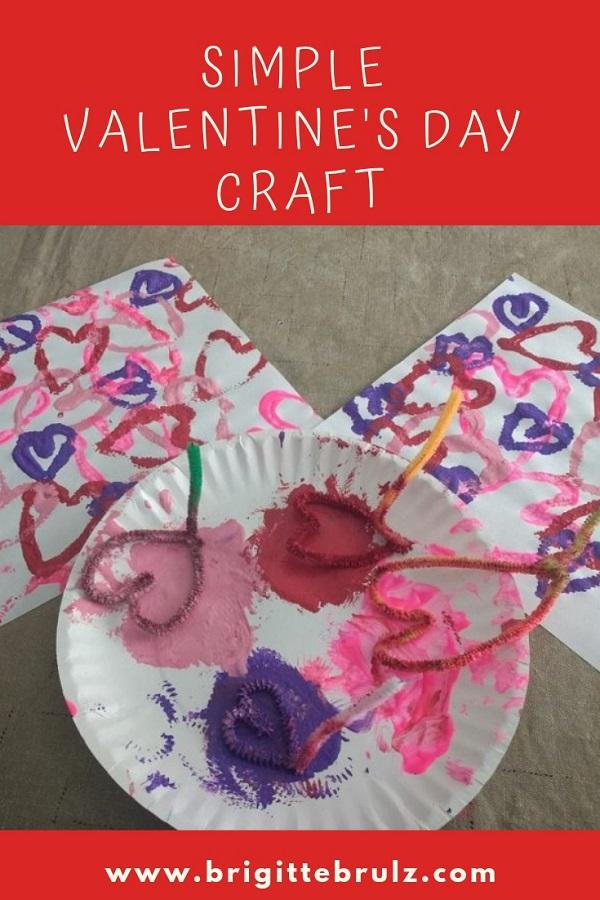Simple Valentine's Day Craft