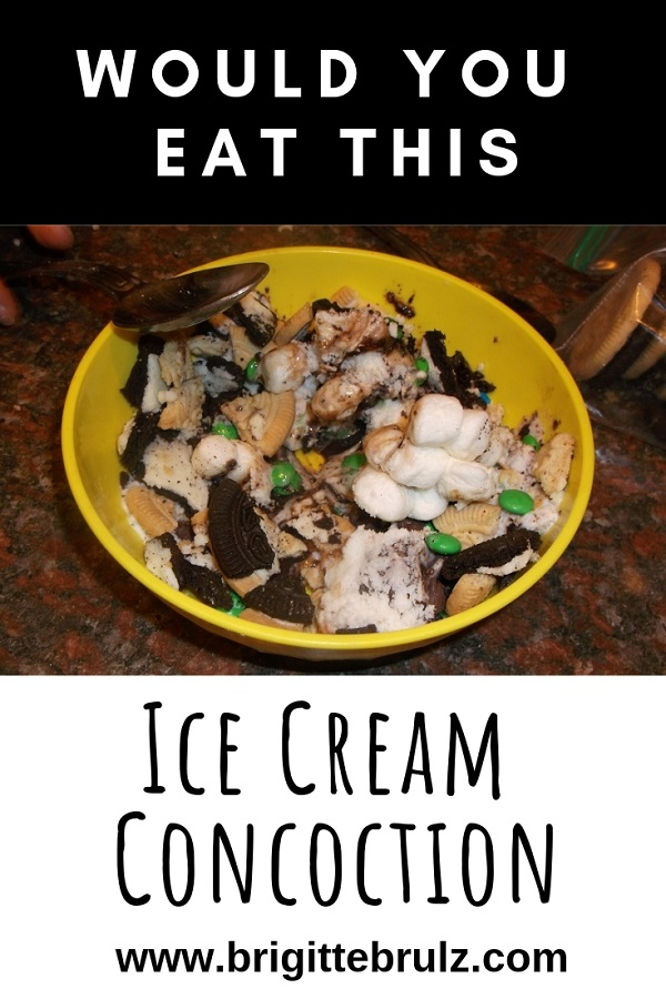 Would You Eat This Ice Cream Concoction