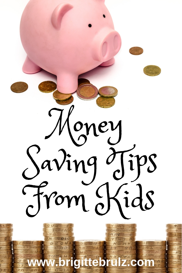 Money Saving Tips From Kids