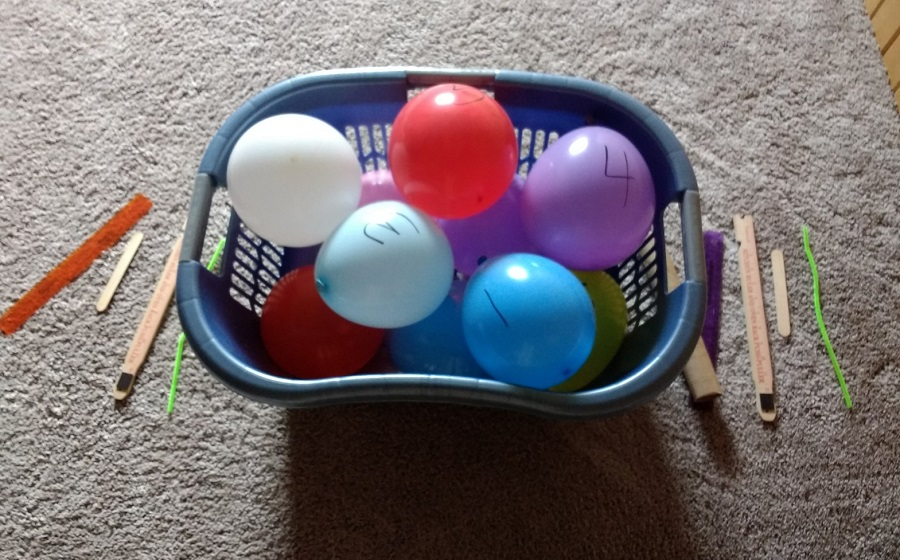 Balloon Activity Race for Kids