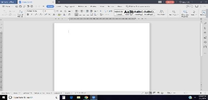 Blank Sheet Print Screen