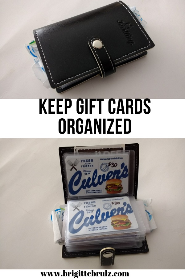 Keep Gift Cards Organized