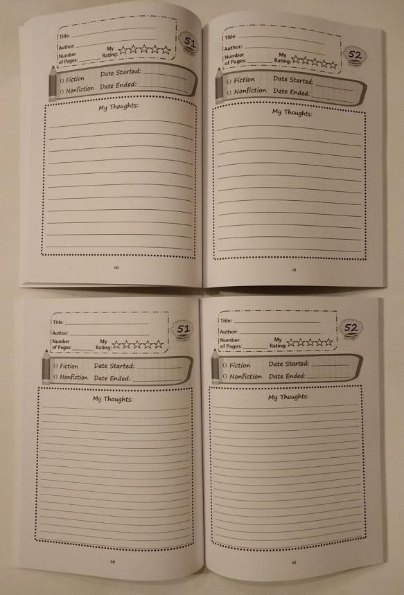 Reading Journal Interiors