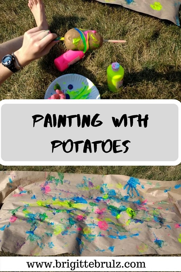 Painting with Potatoes