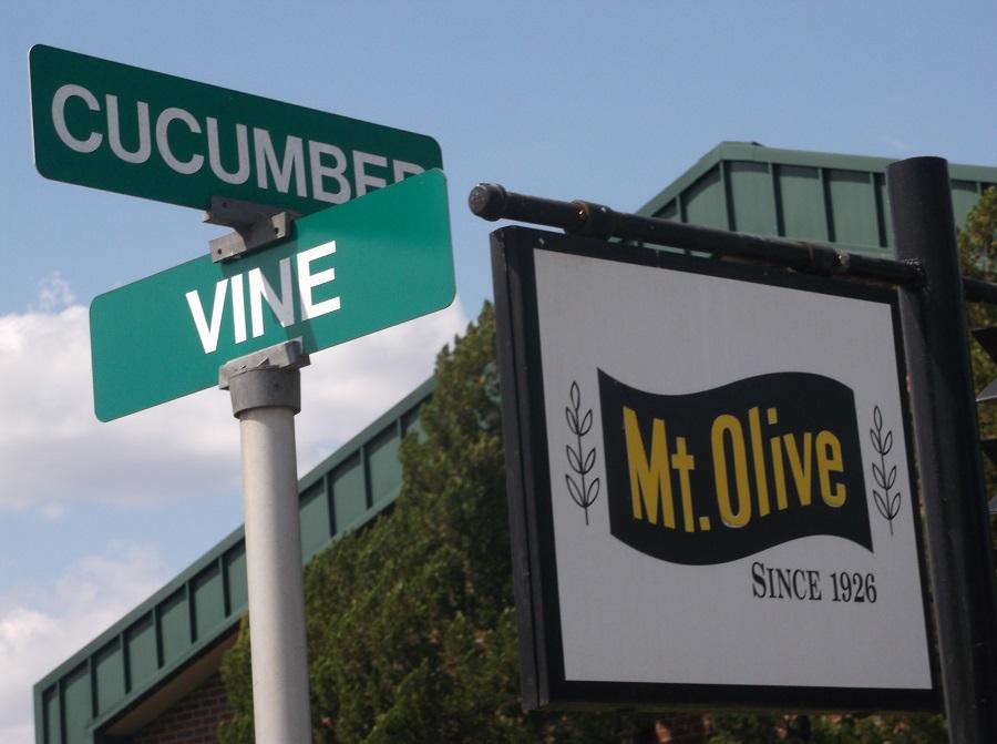 Mt. Olive Pickle Gift Shop Signs