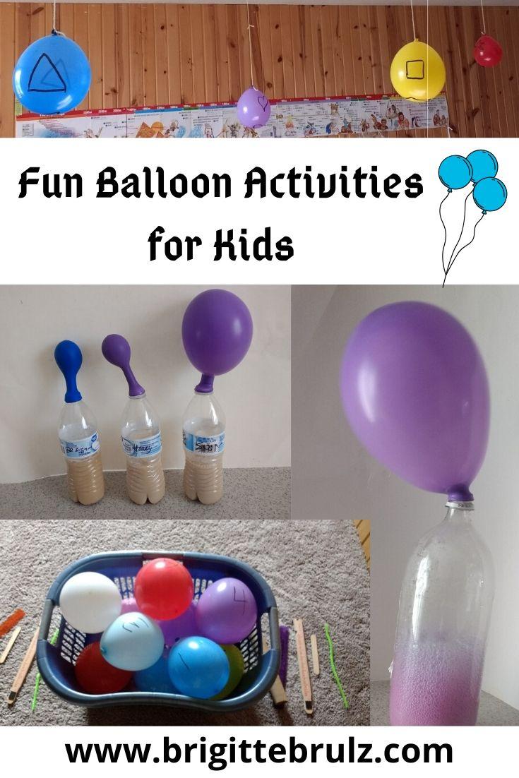 Fun Balloon Activities for Kids