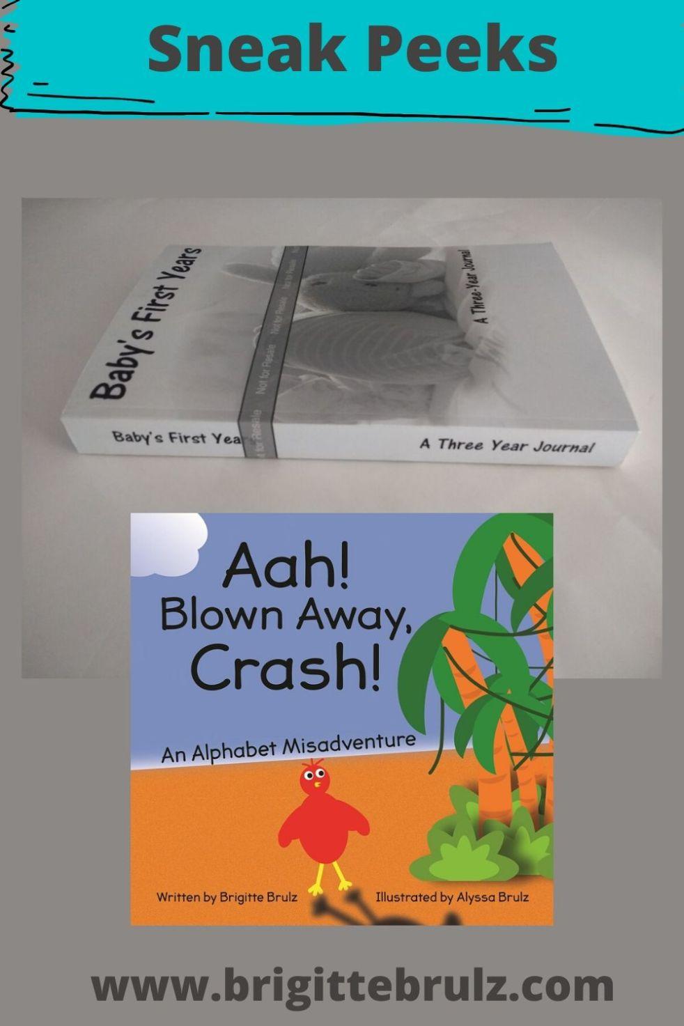 Sneak Peeks Journal and Book