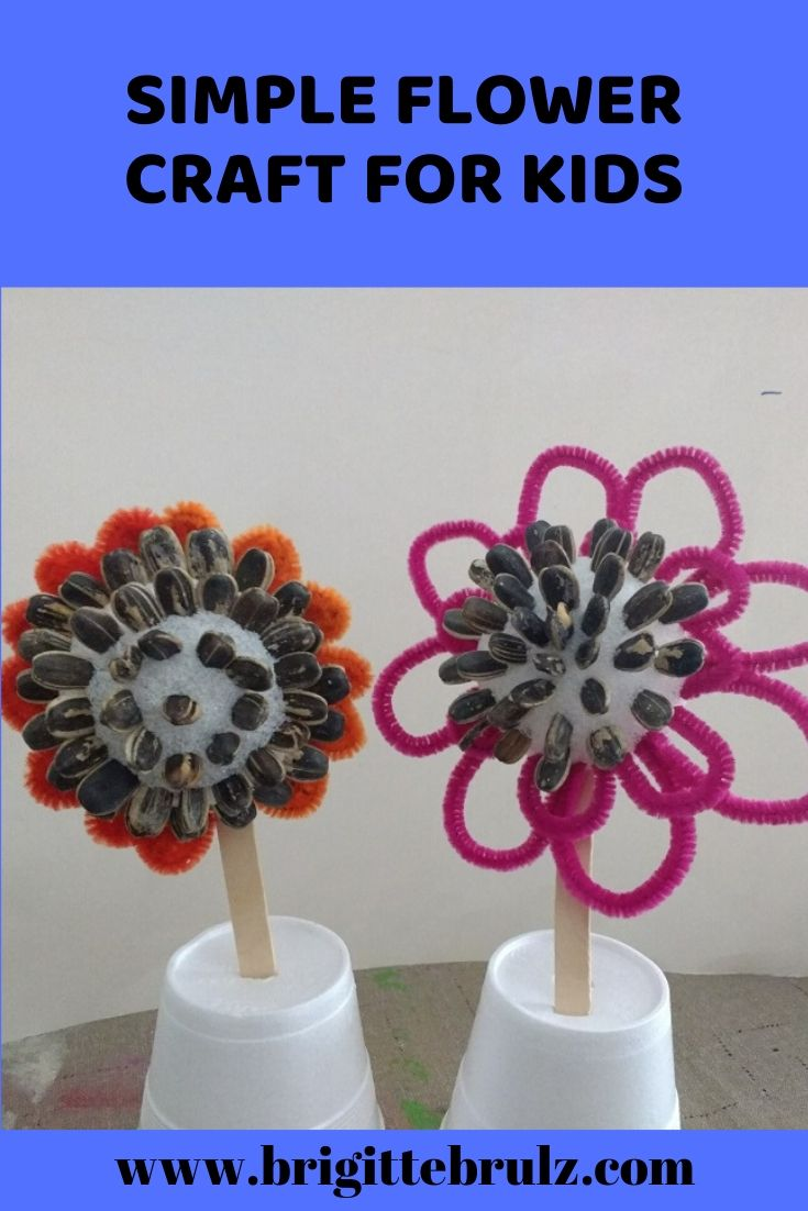 Simple Sun Flower Craft for Kids