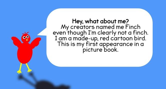 Finch's bio from Aah! Blown Away, Crash!