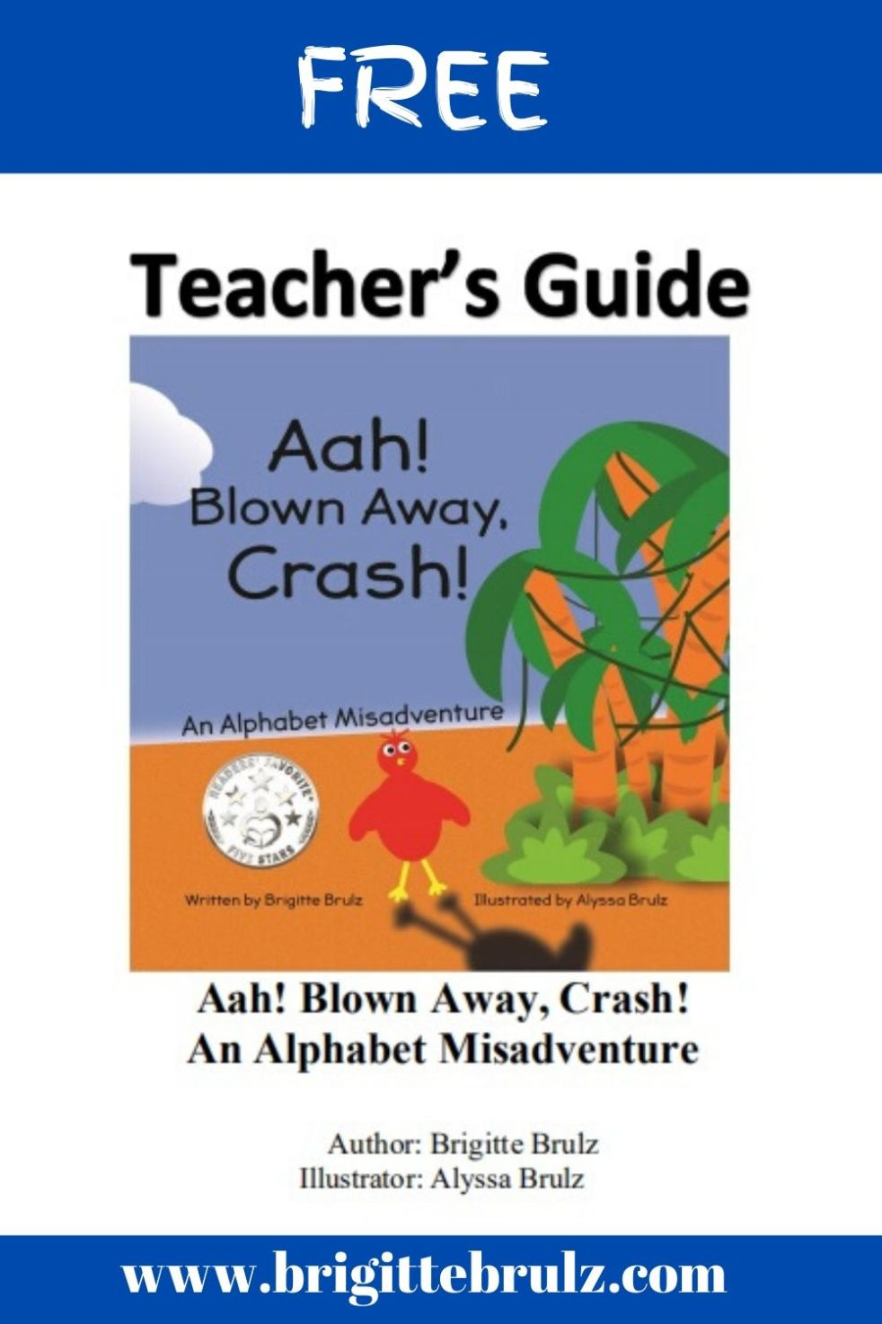 FREE Teacher's Guide for Aah! Blown Away, Crash!