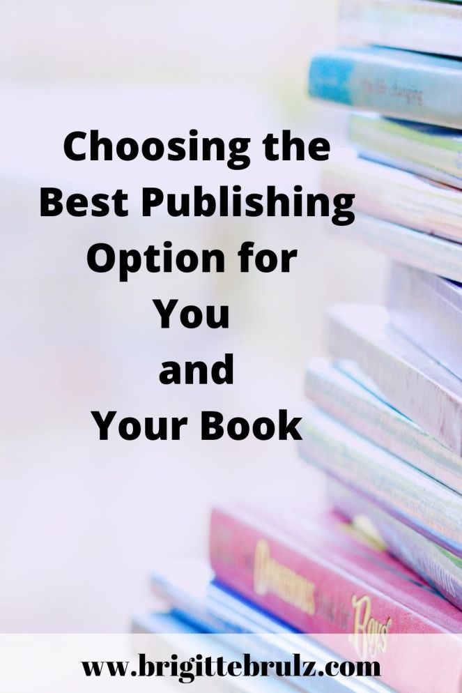 Choosing the Best Publishing Option for You and Your Book
