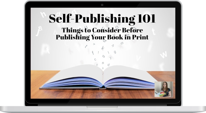 self-publishing 101 Course Available