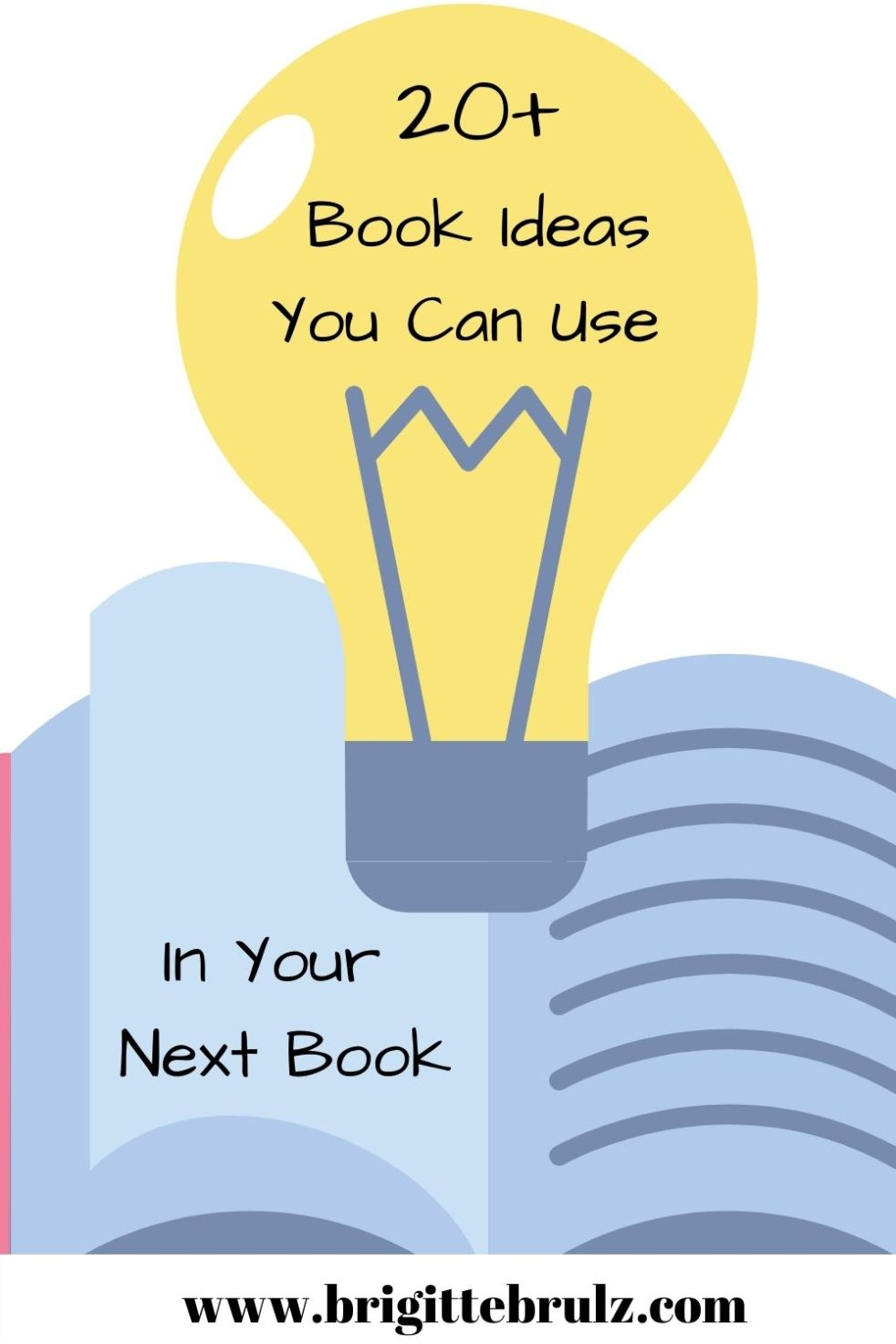 20+ Book Ideas You Can Use in Your Next Book
